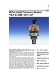 VSA 24-DM /-DH /-DP - Differential Pressure Sensor Brochure