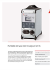 Bühler - Model BA 4S - Portable O2 and CO2 Analyser - Datasheet