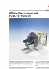 Bühler - Model FGSL 15/FGSL 30 - Oil/Air Cooling/Filtering Units - Datasheet