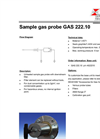 Sample Gas Probe GAS 222.10 - Datasheet