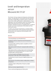Bühler Nivovent 77-XP Programmable Level And Temperature Switch With Display - Datasheet