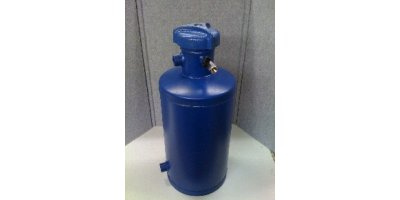 Cannon-Water - Model FB5-QC-AR - Chemical ByPass Feeder 5 Gallon Flat Bottom with Air Release and Quick Closure Lid