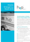Mobile Emergency Relief Units Technical Sheet