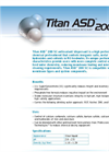 Titan ASD200 SC Super Concentrated Liquid Reverse Osmosis Antiscalant Brochure