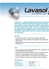 Lavasol 3 (Neutral Ph) Cellulose Acetate Liquid Membrane Cleaner Brochure