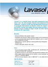 Lavasol 5 (Low Ph, Sillica) Liquid Membrane Cleaner Brochure
