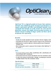 OptiClean B (High Ph) Powder Membrane Cleaner Brochure