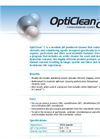 OptiClean C (Medium Ph) Cellulose Acetate Powder Membrane Cleaner Brochure