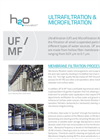 Industrial Water Processes Plant Brochure