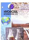 Hydrosil - HS-250 – Water Filtration – Brochure