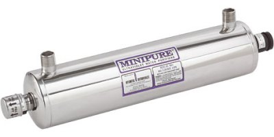 Minipure - Model 1 to 9 gpm - Ultraviolet Water Purifiers