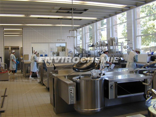 Studentenwerk Frankfurt - Treatment of greasy kitchen wastewater - Case Study