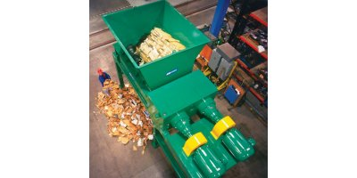 Industrial Paper & Mill Waste shredding