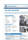 Dual-Shear - Model M55 - Two Shaft Shredder Brochure