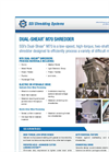 Dual-Shear - Model M70 - Two Shaft Waste Shredder Brochure
