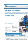 Dual-Shear - Model M120 - Two Shaft Shredder Brochure
