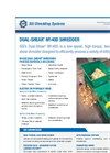 Dual-Shear - Model M140 - Two Shaft Shredder Brochure