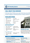 Dual-Shear - Model M160 - Two Shaft Shredder Brochure