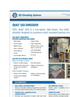 SSI Quad - Model Q55 - Four Shaft Waste Rotary Shear Shredder Brochure