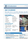 SSI Quad - Model Q70 - Four Shaft Waste Rotary Shear Shredder Brochure