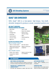 SSI Quad - Model Q85 - Four Shaft Waste Rotary Shear Shredder Brochure