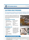 Electronic Scrap Processing Brochure