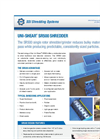 Uni-Shear SR500 Shredder Brochure