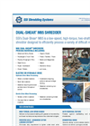 Dual-Shear - Model M85 - Two Shaft Shredder Brochure