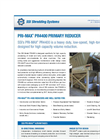 SSI PRI-MAX - Model PR4400 - Heavy Duty Low Speed High Torque Industrial Primary Shredder Brochure