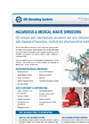 Hazardous & Medical Waste Shredding Brochure
