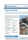 Metals: Scrap Metal Shredding Brochure