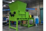 SSI Quad - Model Q140 - Four Shaft Waste Rotary Shear Shredder