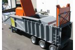 SSI - Model 1800 MSC - Mobile Scrap Compactor