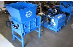 SSI Quad - Q85 - Four Shaft Waste Rotary Shear Shredder