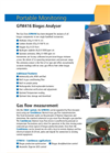 Specification Sheet GFM416 Biogas Analyser