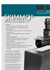 Skimmo 20 & 27 Automatic Oil Skimmer Brochure