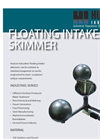Floating Intake Oil Skimmer Brochure