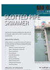 Slotted  Pipe Skimmer Brochure