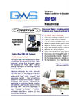 Hydro-Max - HM-100 - Electronic Water Conditioner - Brochure