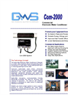 HYDRO-MAX - COM-2000-3000-4000 - Electronic Water Conditioner Brochure