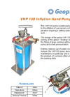 Solvent Pump Hand Operated VHP 100 Brochure