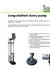 Medium Pressure Long-Shafted Slurry Pump MPG-TPG Brochure