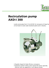 Recirculation Pump AXD-I 300 Brochure