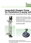 Medium Pressure Long-Shaft Chopper Pump MPG-I Brochure