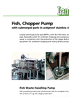 Medium Pressure Long-Shaft Fish Chopper Pump MPFR-I Brochure