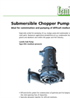 Medium Pressure Submersible Chopper Pump DG-I Brochure