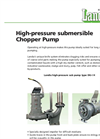 High-Pressure Submersible Chopper Pump DG-I Brochure