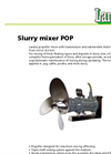 Submersible Slurry Mixer (300 RPM) POP Brochure
