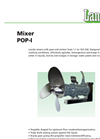 Submersible Mixer (300 RPM) POP-I Brochure