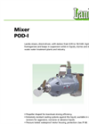 Submersible Mixer (750/1500 RPM) POD-I Brochure